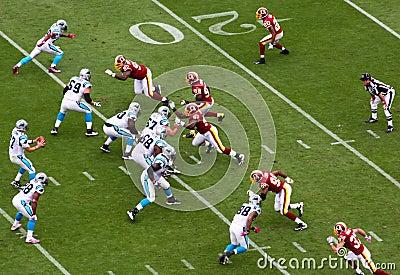 NFL - Blitz! Editorial Photo