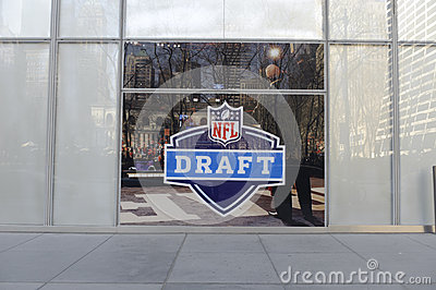 NFL Draft Editorial Image