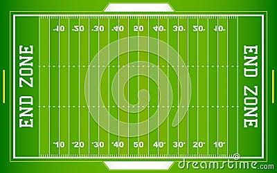 NFL Football Field EPS