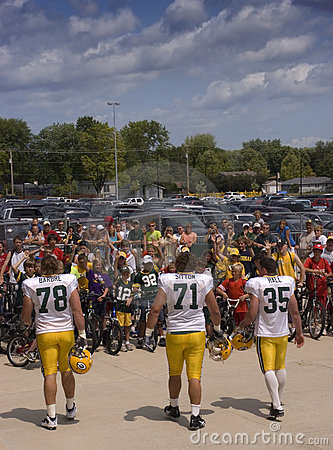 NFL Football Tradition, Green Bay Packers Editorial Photography