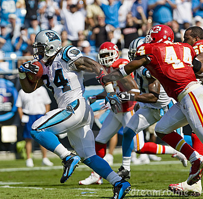 Free NFL Kansas City Chiefs Vs Carolina Panthers Royalty Free Stock Image - 11197986
