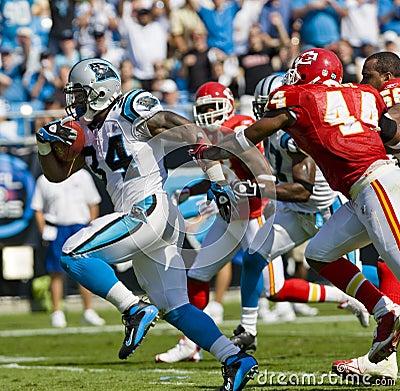 NFL Kansas City Chiefs Vs Carolina Panthers Editorial Photo