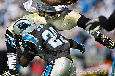 NFL New Orleans Saints Vs Carolina Panthers Editorial Photography