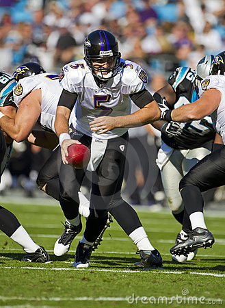 NFL:  Nov 21 Baltimore Ravens Vs Carolina Panthers Editorial Photography