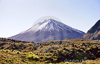 Ngauruhoe Volcano, New Zealand