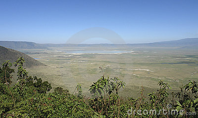 Ngorongoro Conservation Area in Africa