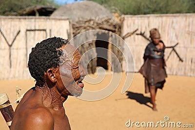 Nharo Bushman Editorial Photography