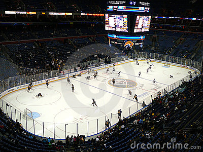 NHL Hockey Editorial Photo