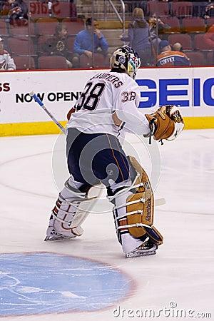 NHL Hockey - Edmonton Oilers & Phoenix Coyotes Editorial Photography