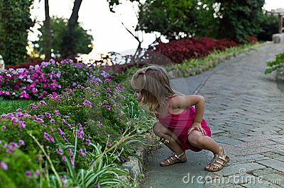 Niño de flor