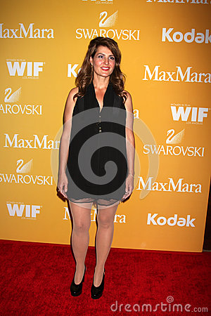 Nia Vardalos arrives at the City of Hope s Music And Entertainment Industry Group Honors Bob Pittman Event Editorial Photo