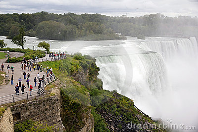 Niagara Falls Foto de Stock Editorial