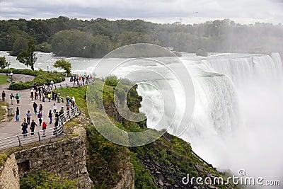 Niagara Falls Redactionele Stock Foto