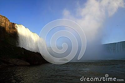 Niagara falls at Buffalo