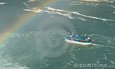 Niagara falls, maid of the mist Editorial Stock Photo