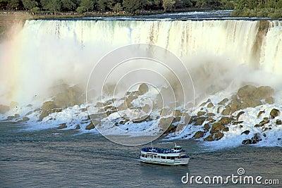 Niagara Falls Maid of the Mist Editorial Stock Photo
