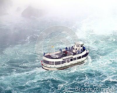 Niagara Falls Maid of the Mist Editorial Image