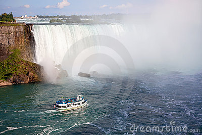 Niagara Falls  and Maid of the Mist Tour Boat