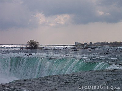 Niagara Falls in March
