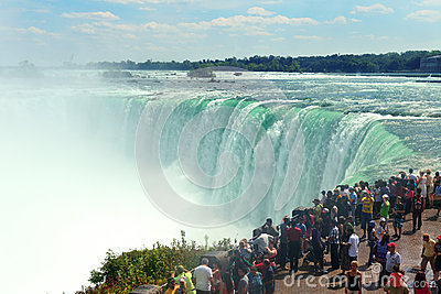 Niagara Falls Editorial Stock Photo