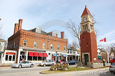 Niagara-on-the-lake Editorial Stock Photo