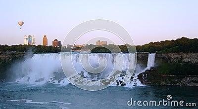 Niagra Falls from Canada