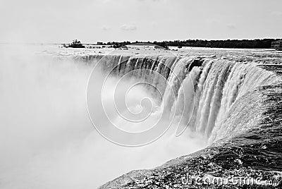 Niagra Falls- Top of the falls