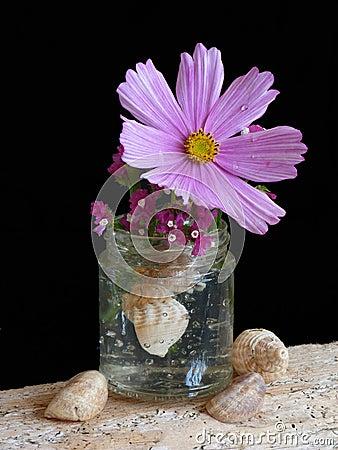 A niave Floral Arrangement