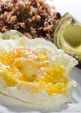 Nicaraguan breakfast
