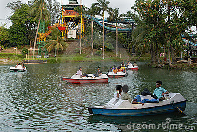 Nicco park in Kolkata-India Editorial Stock Image
