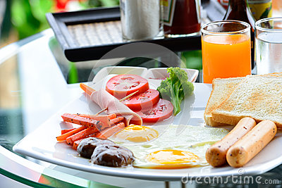 The nice breakfast