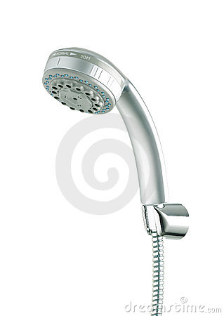 Nice chrome shower head