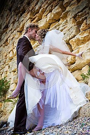 Nice couple near stonewall