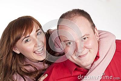 Nice couple portrait