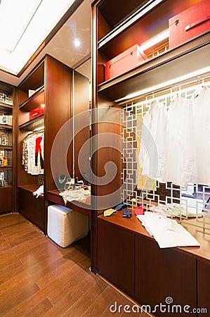 Nice dressing room
