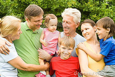 Nice family portrait