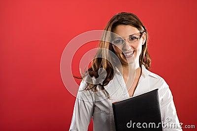 Nice female secretary