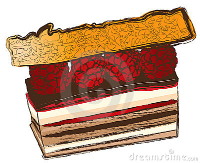 Nice and fine pastry