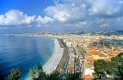 Nice France Royalty Free Stock Image Image 1100196