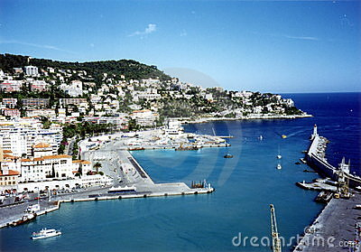 Nice (France) harbour