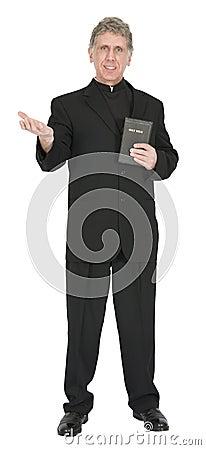 Nice Preacher, Minister, Pastor, Priest Sermon Iso