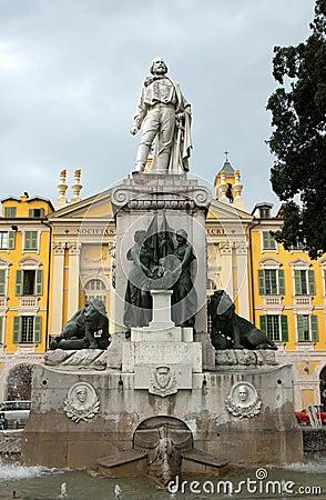 Nice - Garibaldi Statue