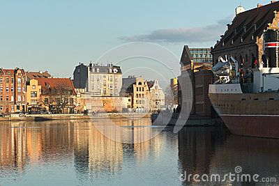 Nice Gdansk view. Editorial Image