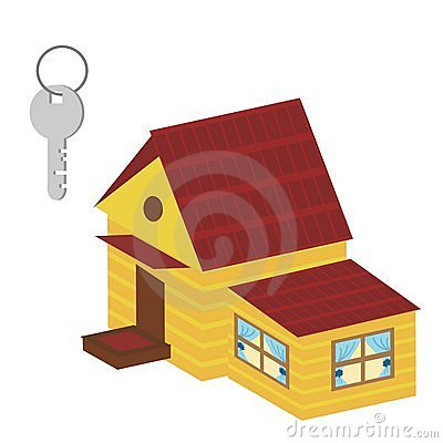 Nice house and key