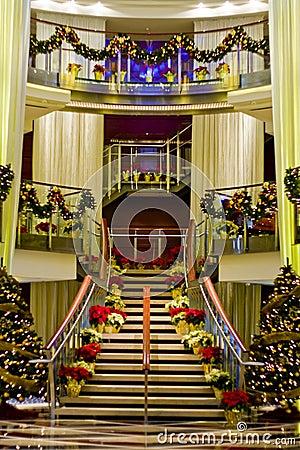 Nice Lobby at Christmas