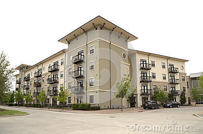Nice Modern Apartment Buildings Stock Photo Image 39746577