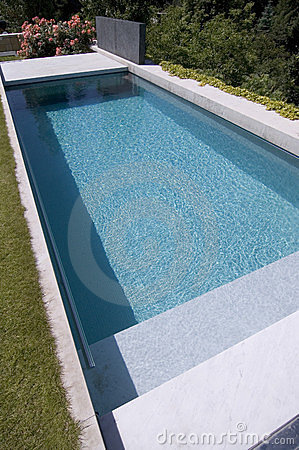 Nice private garden swimming pool