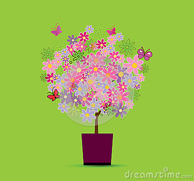 Nice tree stock illustration image 43054209 for Nice small trees