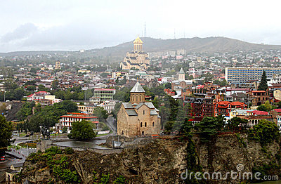 Nice view of Tbilisi