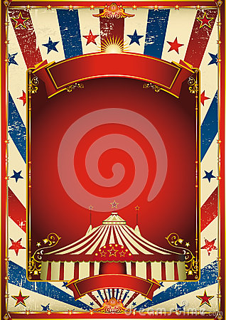 Free Nice Vintage Circus Background With Big Top Royalty Free Stock Photo - 24990885